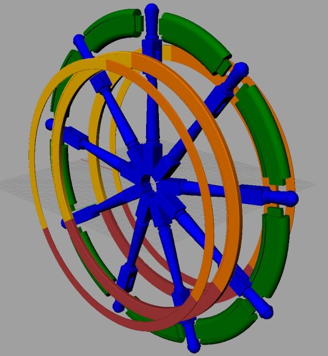 Le double roue du gouvernail B_ruot10