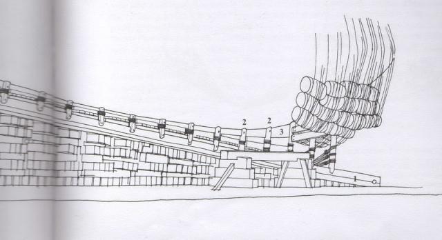Installazioni di cantiere nell'epoca della marineria velica lignea. Cantie12