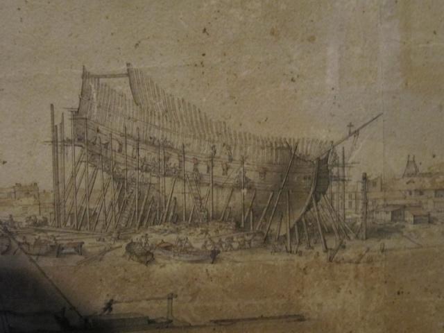 Installazioni di cantiere nell'epoca della marineria velica lignea. Stampa11