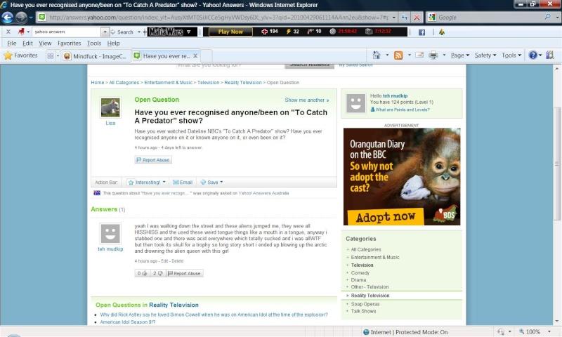 Yahoo answers Yahoo12