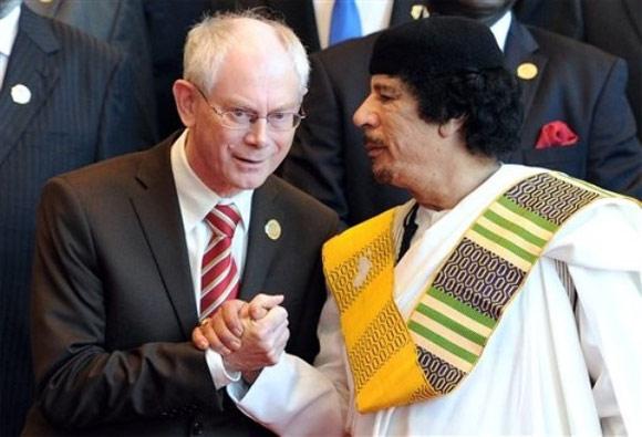 Libye -  Libye - L'approche des opposants à l'intervention alliée Rompuy10