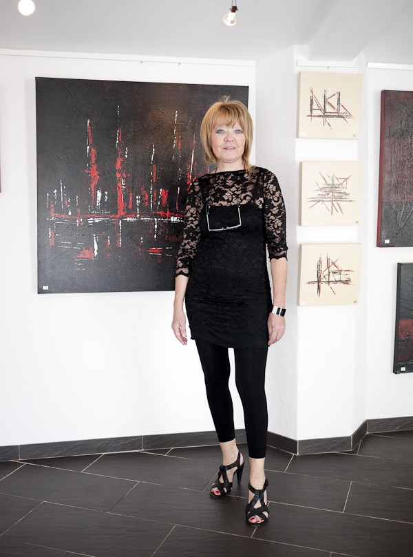 INAUGURATION GALERIE D'ART CONTEMPORAIN Toiles14