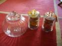 Recherche bonbonnières, grands et petits bocaux, plateaux à gâteaux etc Bonbon15