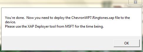 [TUTO] ChevronWP7 sonnerie personnalisée : Mettre la sonnerie de votre choix sur votre WP7 1_510