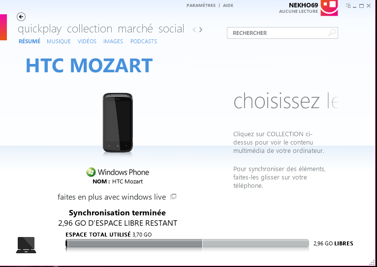 [Ancien Tuto]CHEVRONWP7 pour installer n'importe quelle application WP7 Zune10