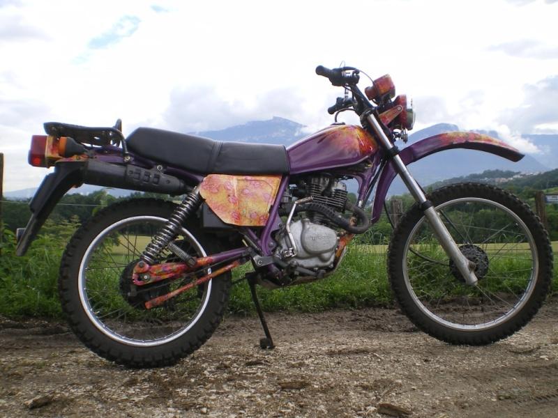 une timono violette, vous en voulez ? Timono18