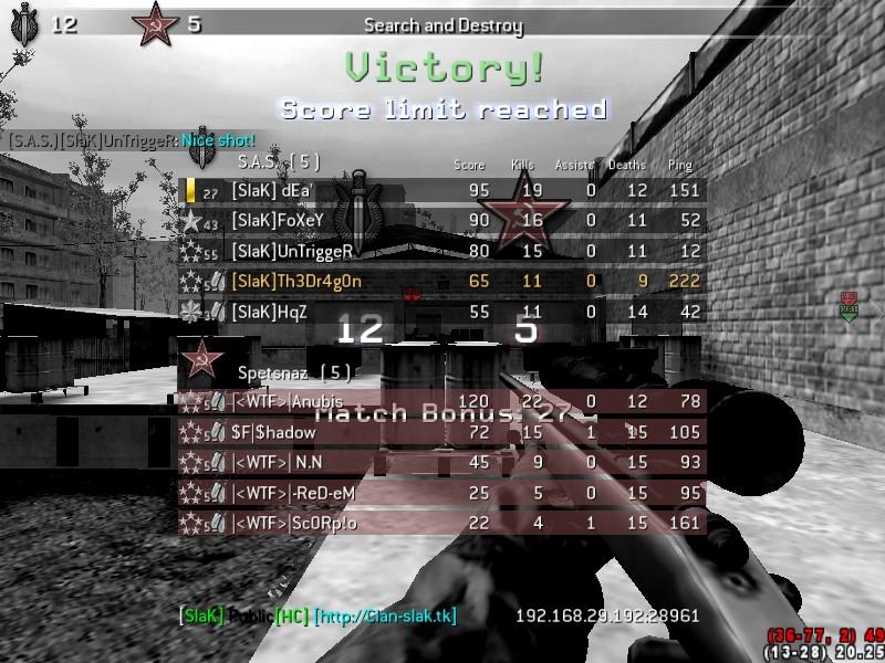 [SlaK] vs WTF 1/11 2010 [WIN] Shot0045