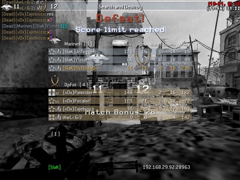 [SlaK] vs {vDx} 29/12 - 2010  Shot0060