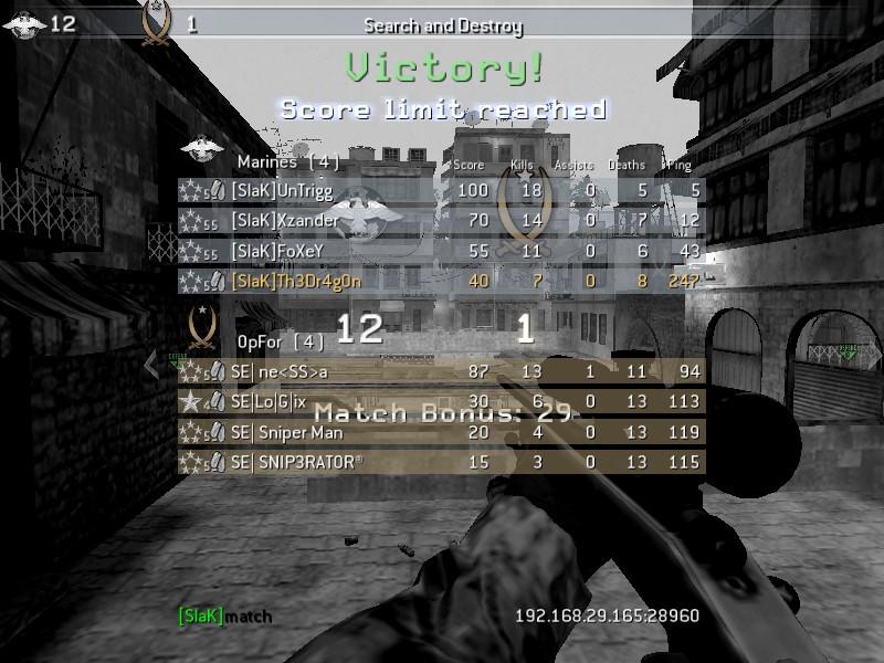 [SlaK] vs SE 28/2 - 2011 Shot0061