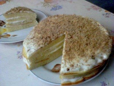 Быстрый торт на сковородке Dd1110