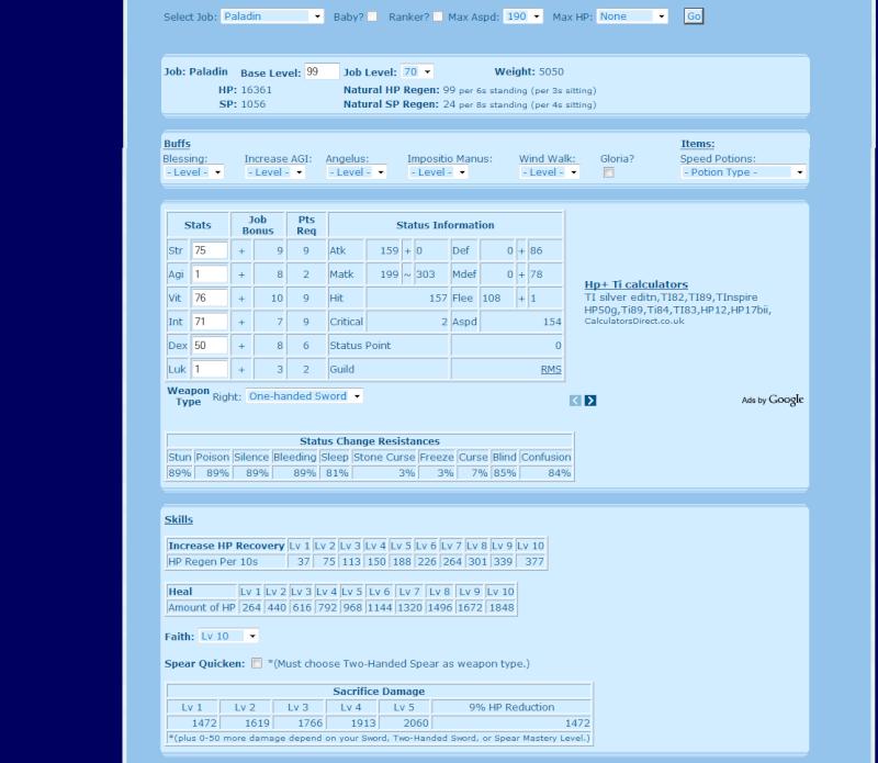 Build Palouf pour Trinix Statsp10