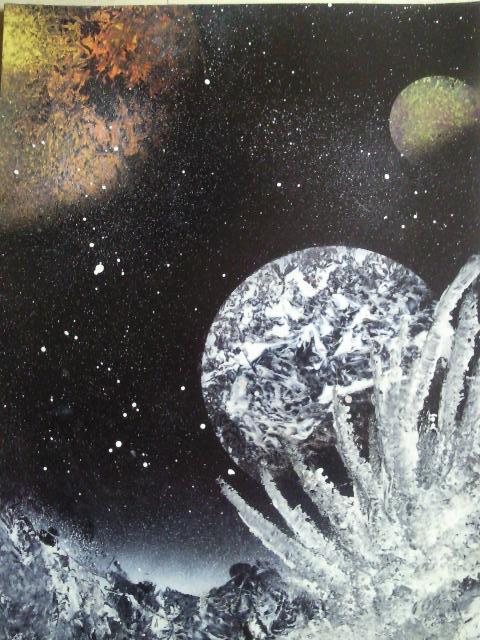 Les peintures de SpaceFlo Sp1111