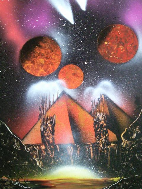 Les peintures de SpaceFlo Sp112