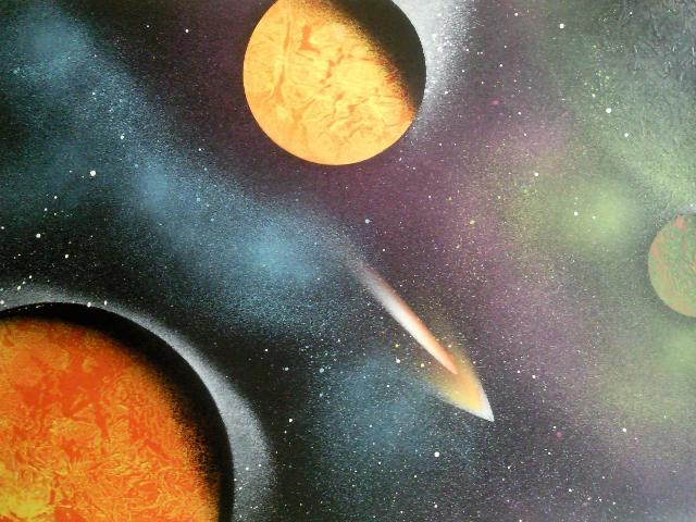Les peintures de SpaceFlo Sp1211