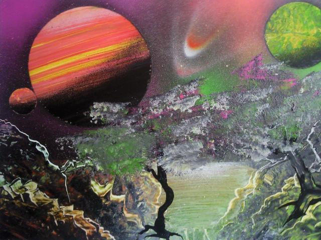 Les peintures de SpaceFlo Sp1512