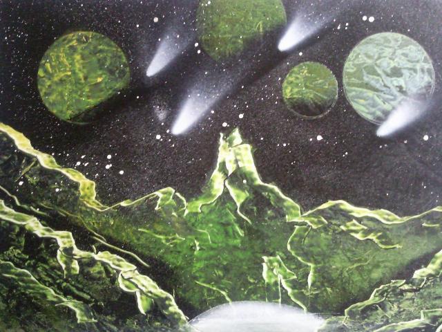 Les peintures de SpaceFlo Sp1611