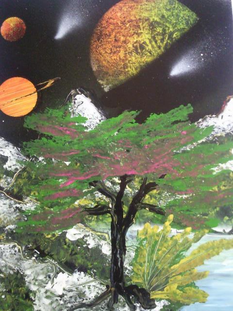 Les peintures de SpaceFlo Sp611