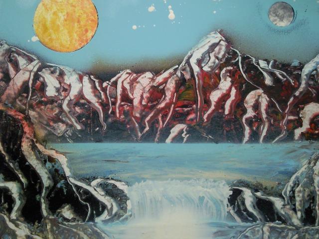 Les peintures de SpaceFlo Sp711