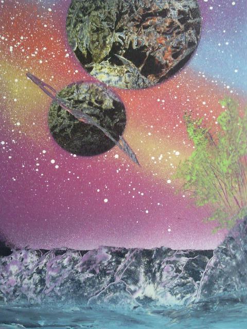Les peintures de SpaceFlo Sp911