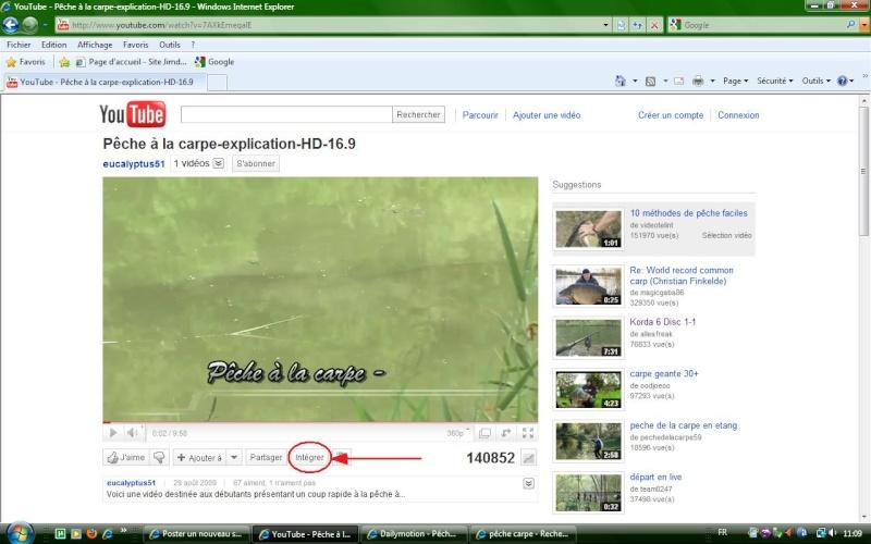 Mettre des videos sur le forum Fo210