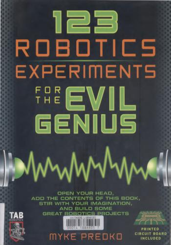 كتاب 123 Robotics Experiments for the Evil Genius  1_2_3_11