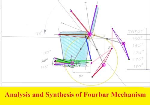 بحث بعنوان Analysis and Synthesis of Four Bar Mechanism  A_a_s_11