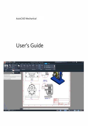 كتاب AutoCAD Mechanical User Guide A_c_m_19