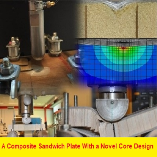 بحث بعنوان A Composite Sandwich Plate With a Novel Core Design A_c_s_10