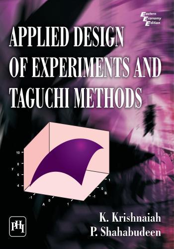 كتاب Applied Design of Experiments and Taguchi Methods A_d_e_10