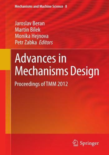 كتاب Advances in Mechanisms Design  A_i_m_11