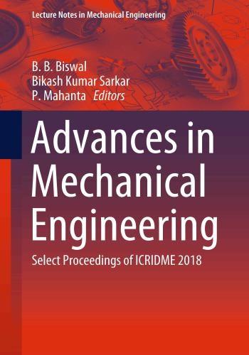 كتاب Advances in Mechanical Engineering - Select Proceedings of ICRIDME 2018  A_i_m_20