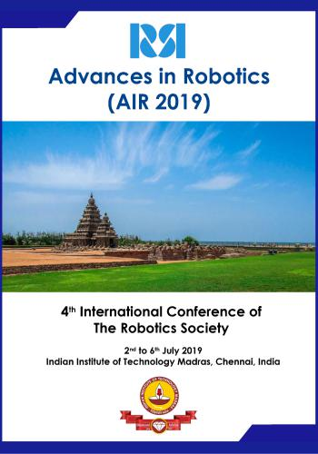 مجلة Advances in Robotics (AIR 2019)  A_i_r_10