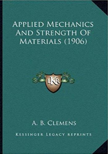 كتاب Applied Mechanics and Strength of Materials   A_m_a_10
