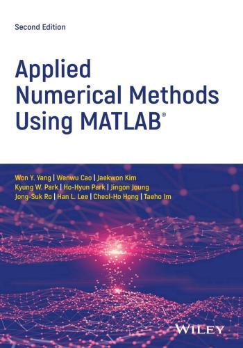 كتاب Applied Numerical Methods Using Matlab  A_n_m_10
