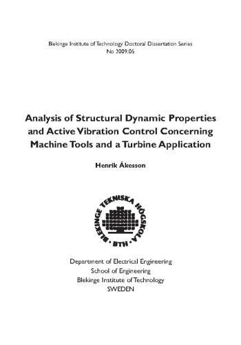 كتاب Analysis of Structural Dynamic Properties and Active Vibration Control A_s_d_10