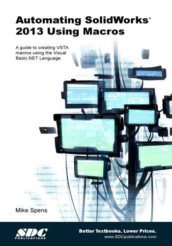 كتاب Automating SolidWorks 2013 Using Macros  A_s_w_11