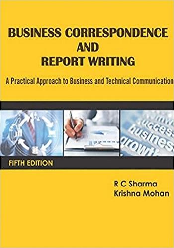 كتاب Business Correspondence and Report Writing  B_c_a_11