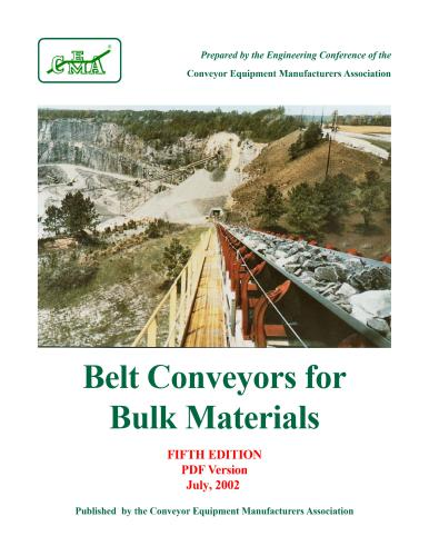 كتاب Belt Conveyors for Bulk Materials B_c_b_10