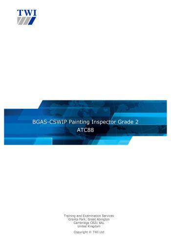 كتاب BGAS CSWIP Painting Inspector Grade 2 - ATC88 B_c_s_10