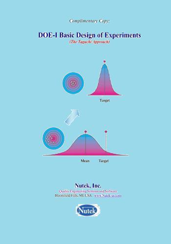كتاب DOE-I Basic Design of Experiments (The Taguchi Approach)  B_d_e_10