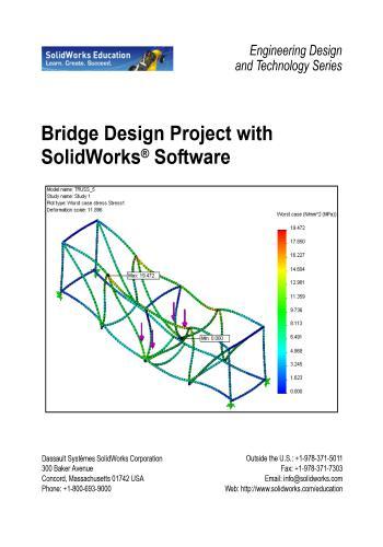كتاب Bridge Design Project with SolidWorks Software  B_d_p_10
