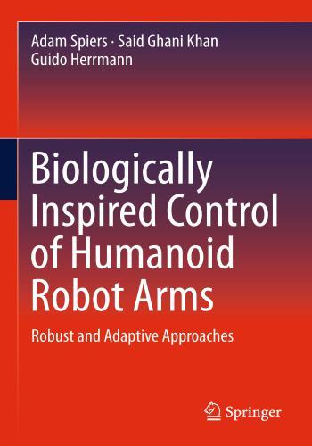 كتاب Biologically Inspired Control of Humanoid Robot Arms  B_i_c_10