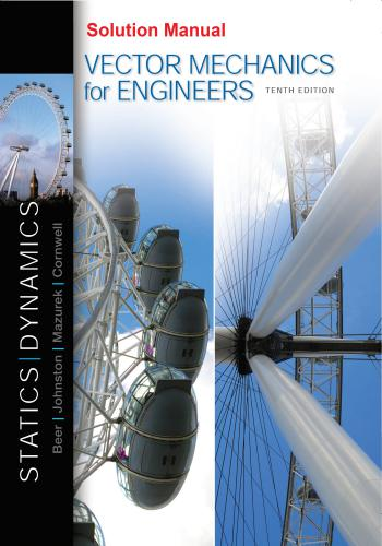 حل كتاب Beer Vector Mechanics for Engineers Statics and Dynamics Solution Manual  B_v_m_11