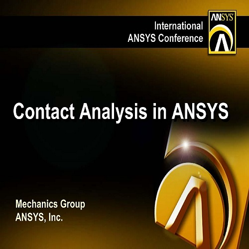 محاضرة تعليم برنامج أنسس بعنوان Contact Analysis in ANSYS  C_a_i_10