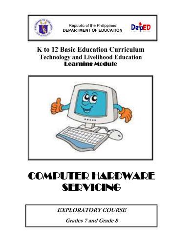 كتاب Computer Hardware Servicing  C_h_s_10