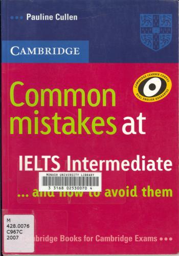 كتاب الأخطاء الشائعة في اختبار الأيلتس - Common Mistakes in IELTS  C_m_i_11