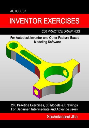 كتاب Autodesk Inventor Exercises 200 3D Practice Drawings   E_2_p_11