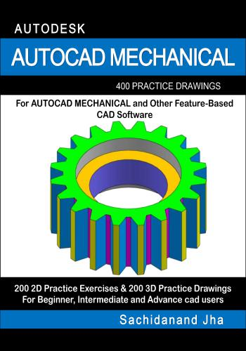 كتاب Autocad Mechanical 200 3D Practice Drawings   E_2_p_12