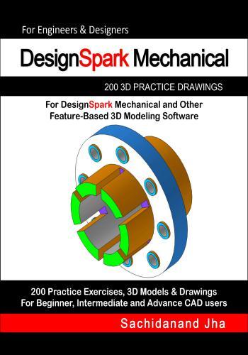 كتاب Designspark Mechanical 200 3D Practice Drawings  E_2_p_13