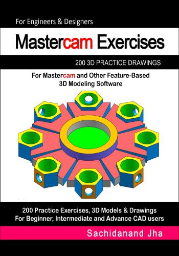 كتاب Mastercam Exercises 200 3D Practice Drawings   E_2_p_14